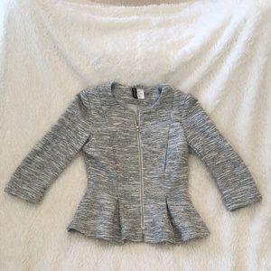 Divided H&M peplum jacket
